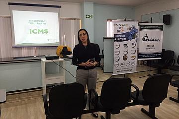 Arapongas - Curso Substituição Tributária do ICMS - 12/06/2019