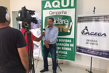 Arapongas - Entrevista IRPF 2019 - 13/03/2019