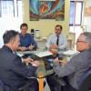 Curitiba - Visita do gerente da Caixa Econômica - 06/02/2019