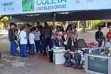Maringá - Campanha ELixo - 05/06/2019