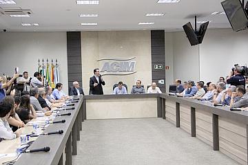 Maringá - Diretor regional acompanha visita do pré-candidato Ratinho Júnior - 02 07 18