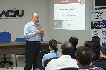 Umuarama - Curso: Reforma Trabalhista - 08/08/17