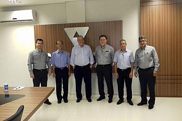Umuarama - Reunião com executivos do Sicoob - 17/01/2019
